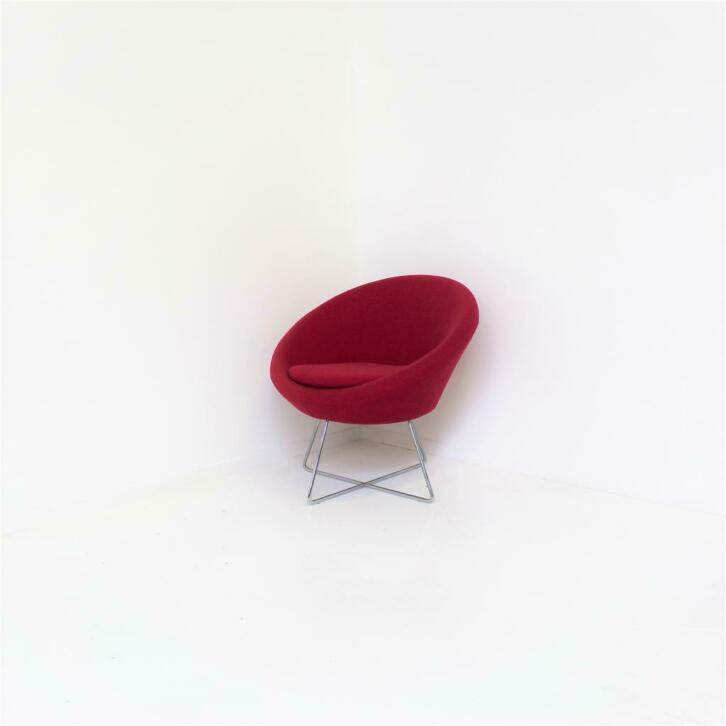 Plastic Design Stoelen.Design Fauteuils Design Stoelen Roze Chroom Rm Kantoor Alkmaar