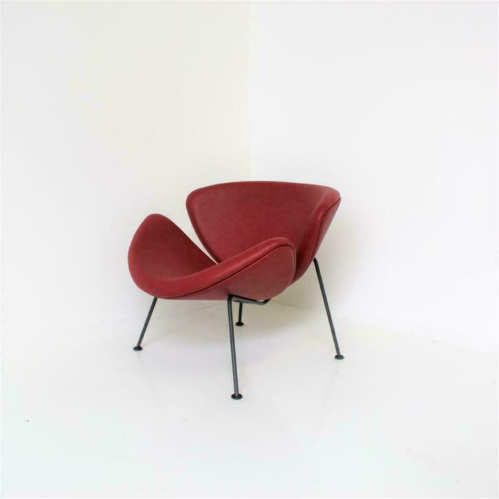 Design Stoelen En Fauteuils.Artifort Orange Slice Design Fauteuils Design Stoelen Rood