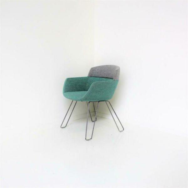 Nieuwe Design Stoelen.Artifort Mood Design Stoelen Rene Holten Blauw Grijs Nieuw Rm